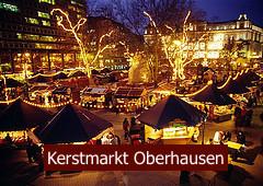 oberhausen duitsland kerstmarkt kerst