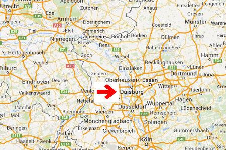 kaart plattegrond duisburg